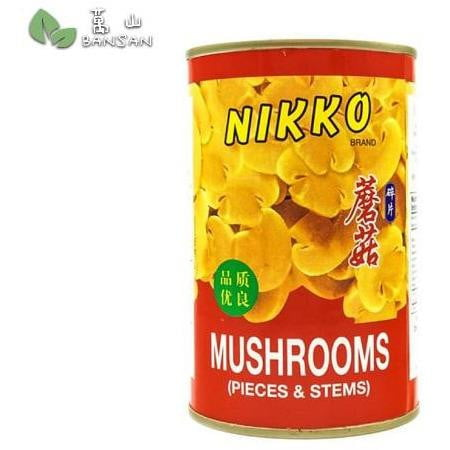 Penang Grocery Store Online Next Day Delivery is Offering Nikko Button Mushroom (sliced) (±425g)