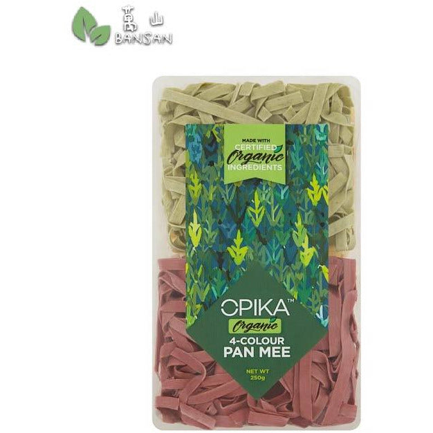 Penang Grocery Store Online Next Day Delivery is Offering Opika Organic 4-Colour Pan Mee [250g]