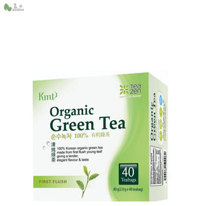 Tea Zen Organic First Flush Green Tea (1.8g x 40 tea bags) - Bansan Penang