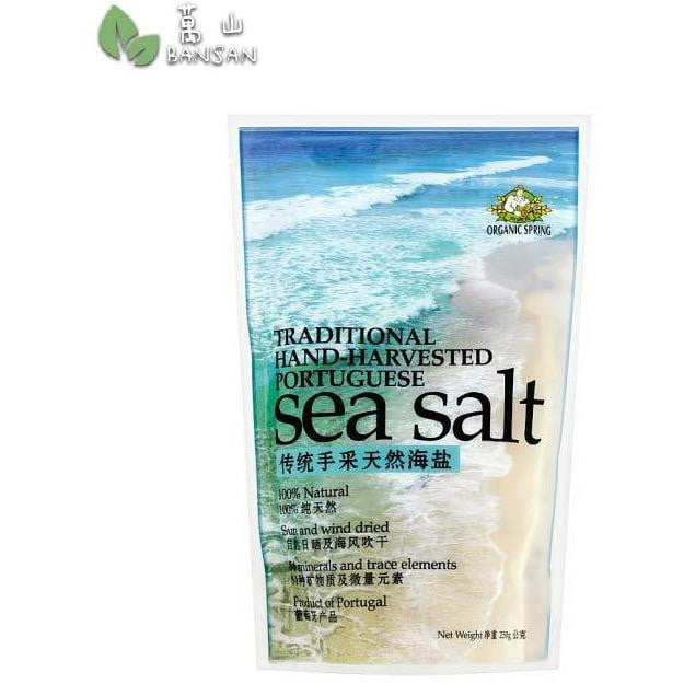 Penang Grocery Store Online Next Day Delivery is Offering Organic Spring Traditional Hand-Harvested Portuguese Sea Salt (±250g)
