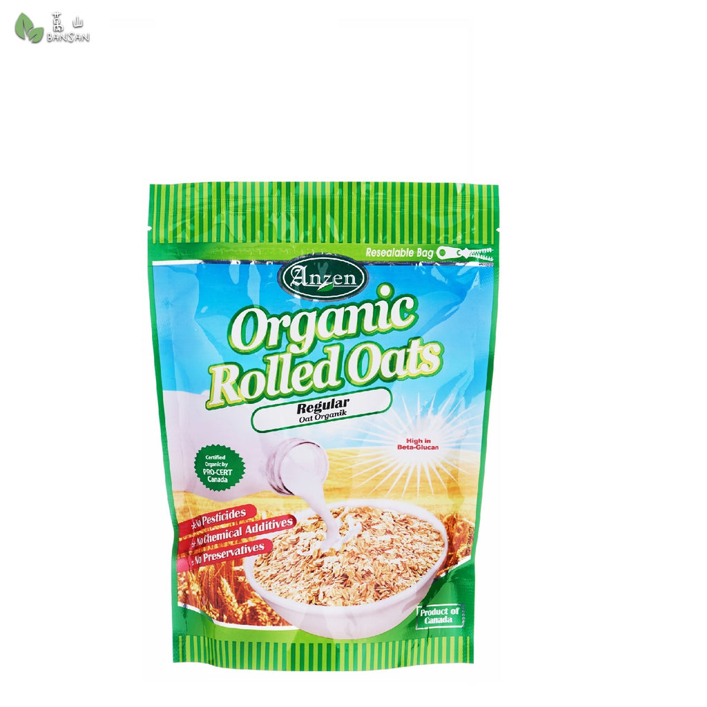 Penang Grocery Store Online Next Day Delivery is Offering Anzen Regular Organic Rolled Oats (500g)