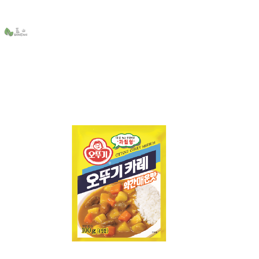 Penang Grocery Store Online Next Day Delivery is Offering Ottogi Curry Powder - Medium (100g)