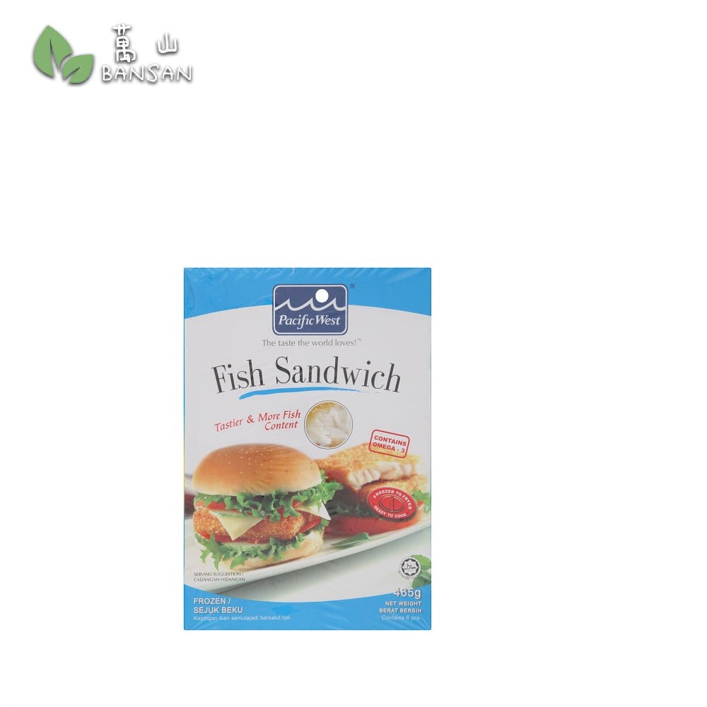 Penang Grocery Store Online Next Day Delivery is Offering Pacific West Fish Sandwich (465g) (6pcs)
