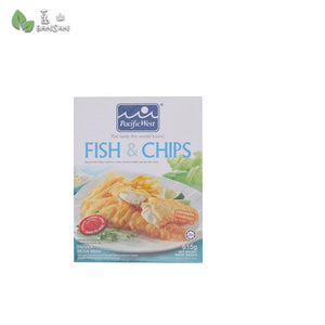 Penang Grocery Store Online Next Day Delivery is Offering Pacific West Fish & Chips Fillets (500g)