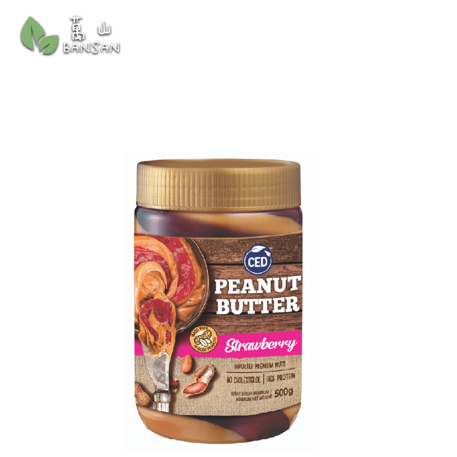 Penang Grocery Store Online Next Day Delivery is Offering CED Peanut Butter Strawberry (500g)
