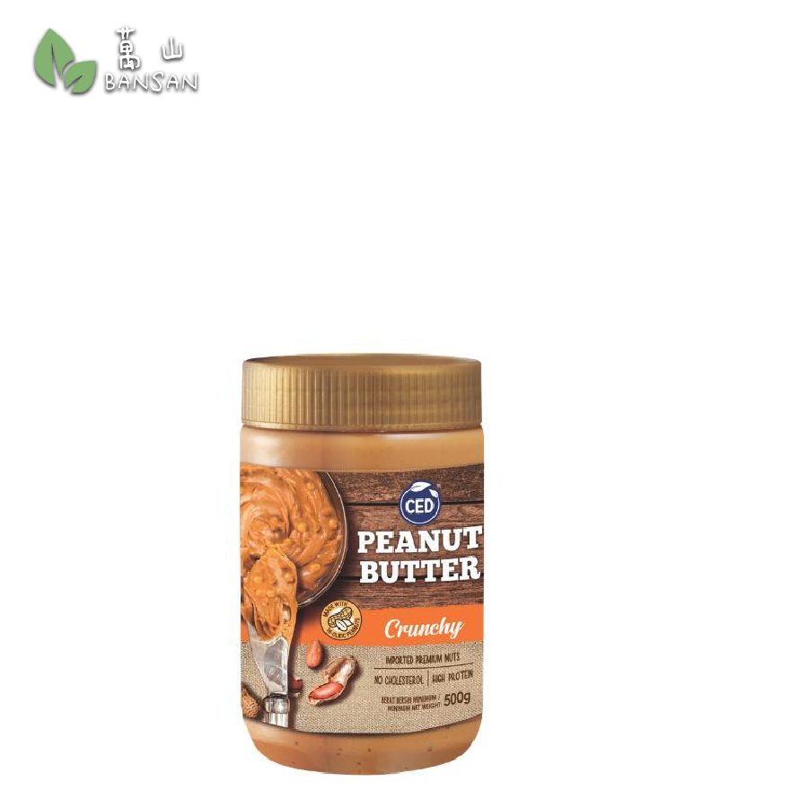 Penang Grocery Store Online Next Day Delivery is Offering CED Peanut Butter Crunchy (500g)