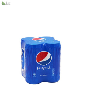 Penang Grocery Store Online Next Day Delivery is Offering Pepsi (4 cans) (320ml)