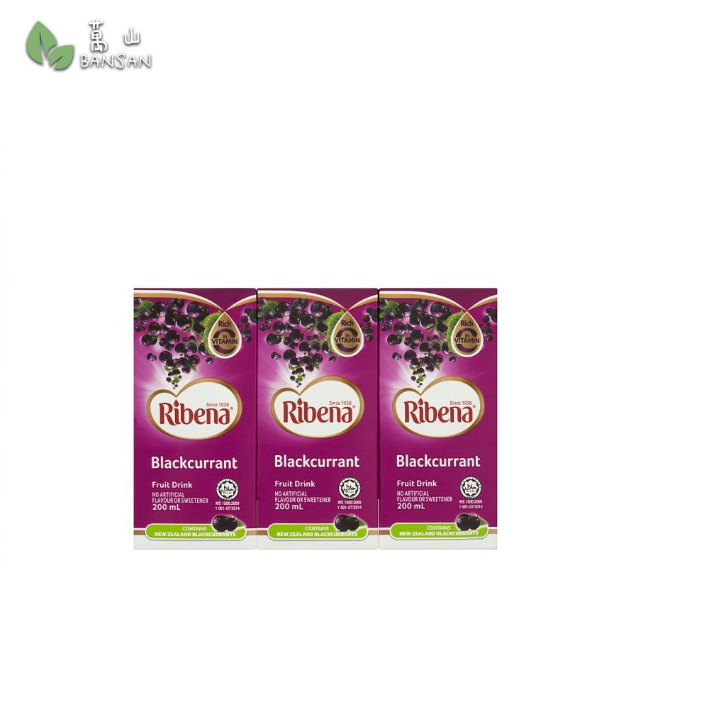 Penang Grocery Store Online Next Day Delivery is Offering Ribena Blackcurrant Fruit Drink (6 x 200ml)