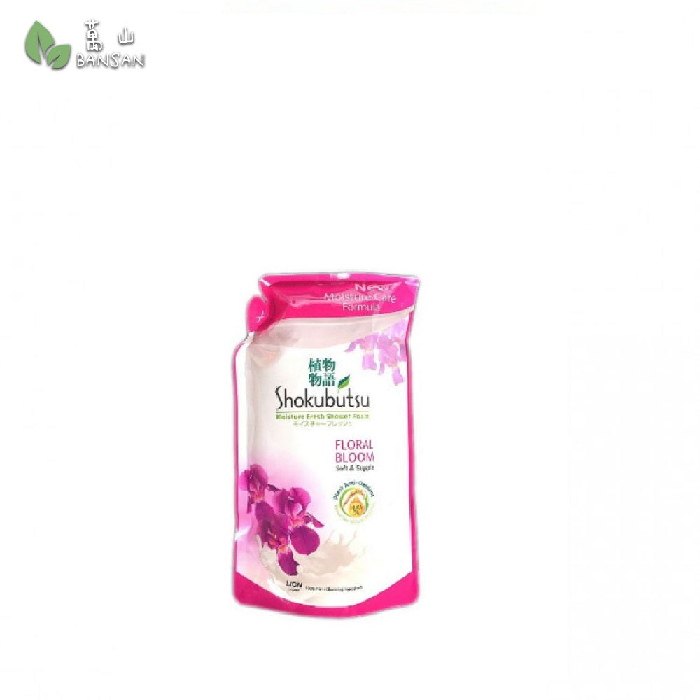 Shokubutsu Shower Foam Refill (Floral Bloom) 850g - Bansan Penang