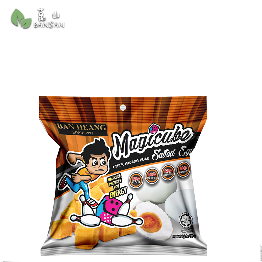Penang Grocery Store Online Next Day Delivery is Offering Ban Heang Magicube - Salted Egg (50g)