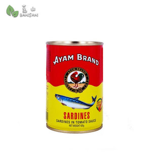 Penang Grocery Store Online Next Day Delivery is Offering Ayam Brand Sardines in Tomato Sauce (425g)