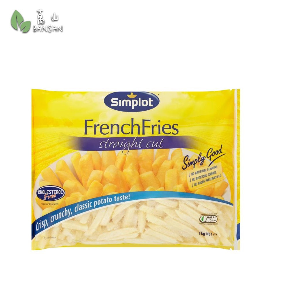 Penang Grocery Store Online Next Day Delivery is Offering Simplot French Fries Straight Cut (1kg)