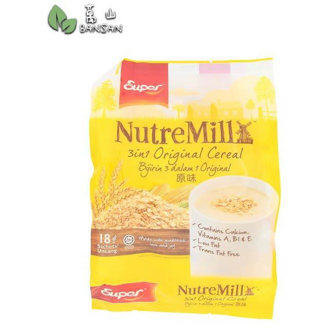 Penang Grocery Store Online Next Day Delivery is Offering Super NutreMill 3 In 1 Original Cereal
