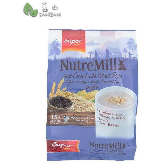 Super NutreMill 4 In 1 Cereal with Black Rice - Bansan Penang