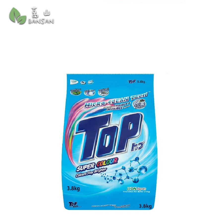 Top Micro-Clean Tech Super Colour Powder Detergent (3.8kg) - Bansan Penang