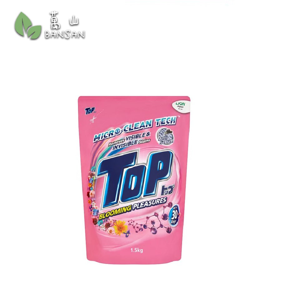 Top Blooming Pleasures Micro-Clean Tech Liquid Detergent Refill (1.5kg) - Bansan Penang