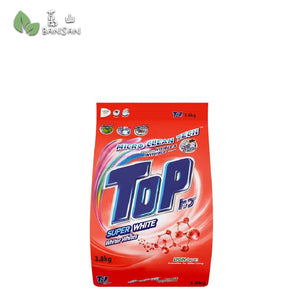 Top Micro-Clean Tech Super White Powder Detergent (3.8kg) - Bansan Penang