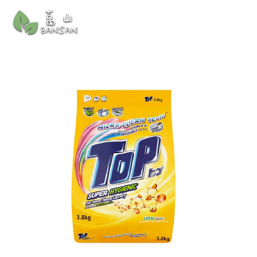Top Micro-Clean Tech Super Hygienic Powder Detergent (3.8kg) - Bansan Penang