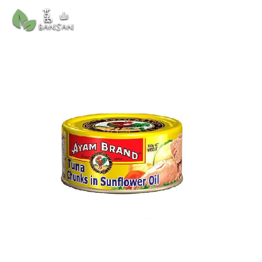 Penang Grocery Store Online Next Day Delivery is Offering Ayam Brand Tuna Chunks in Sunflower Oil (150g)