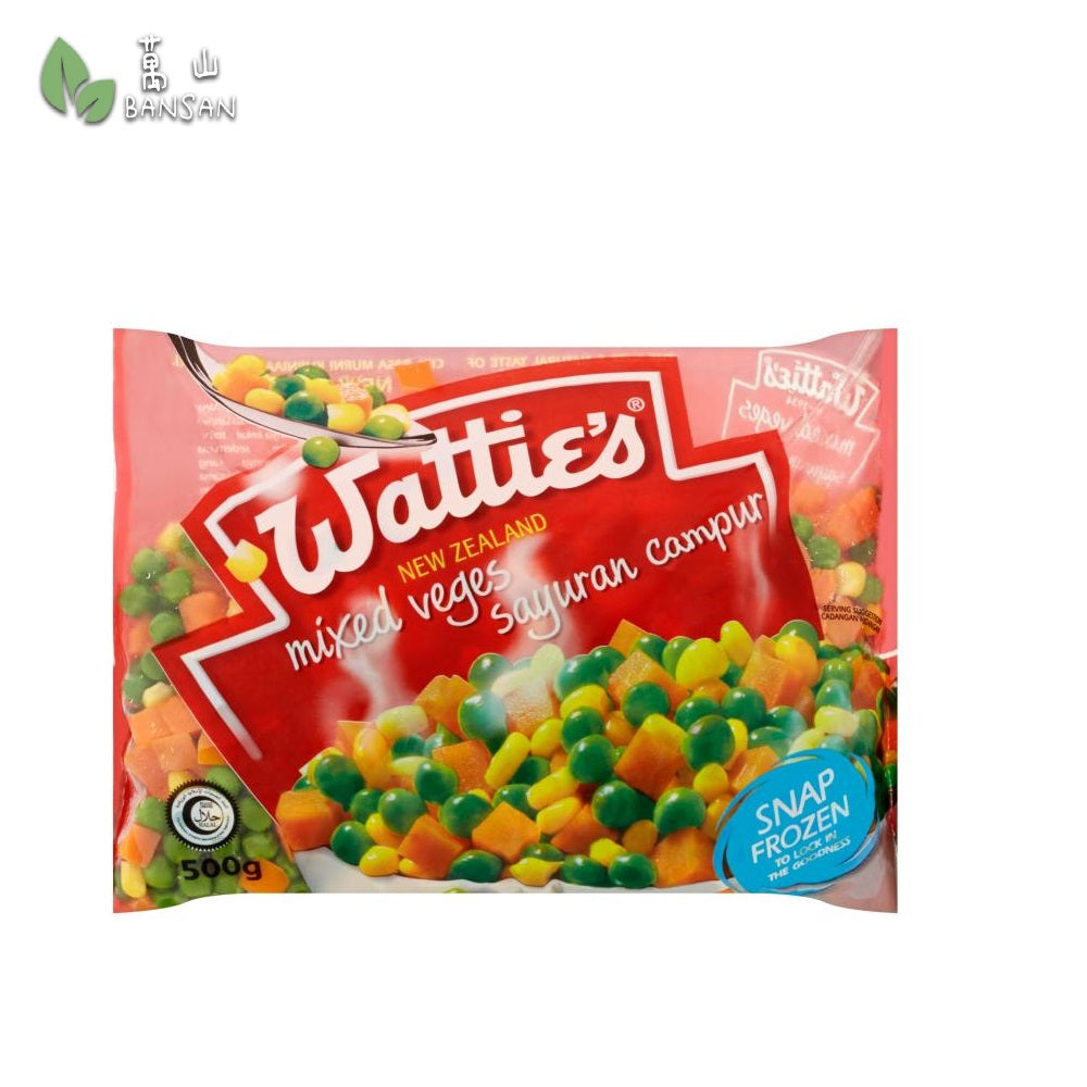 Penang Grocery Store Online Next Day Delivery is Offering Wattie's Mixed Veges (500g)
