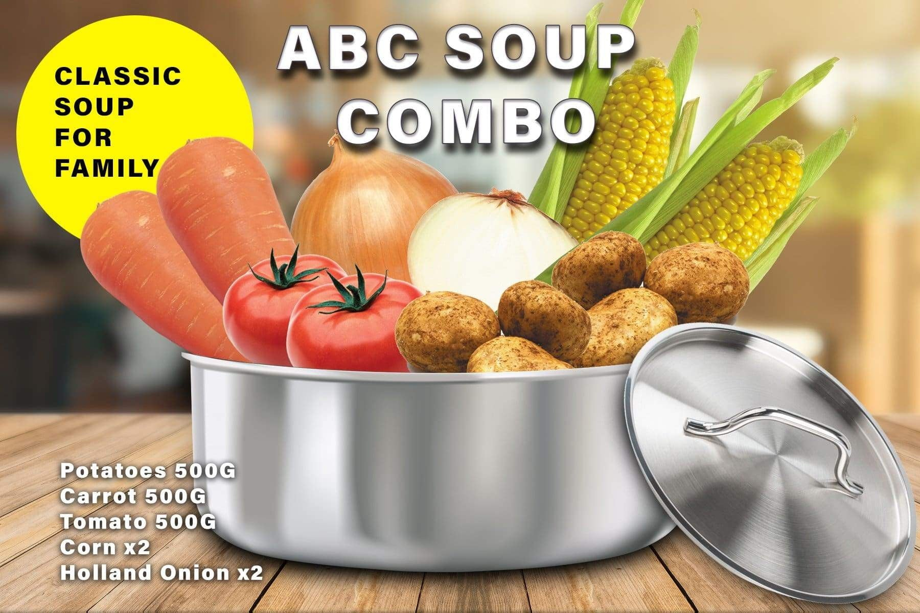 Penang Grocery Store Online Next Day Delivery is Offering ABC Soup Combo