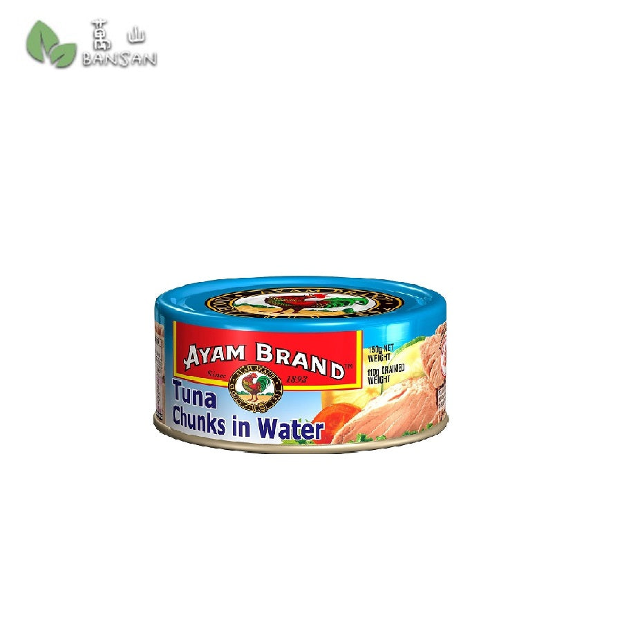 Penang Grocery Store Online Next Day Delivery is Offering Ayam Brand Tuna Chunks in Water  (150g)