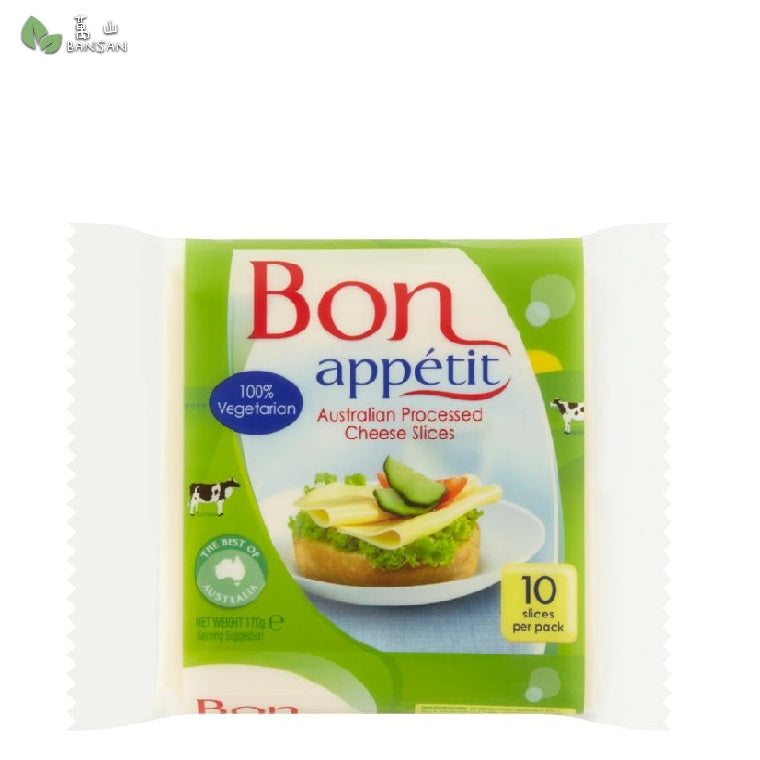 Penang Grocery Store Online Next Day Delivery is Offering Bon Appetit Australian Processed Cheese Slices (170g)