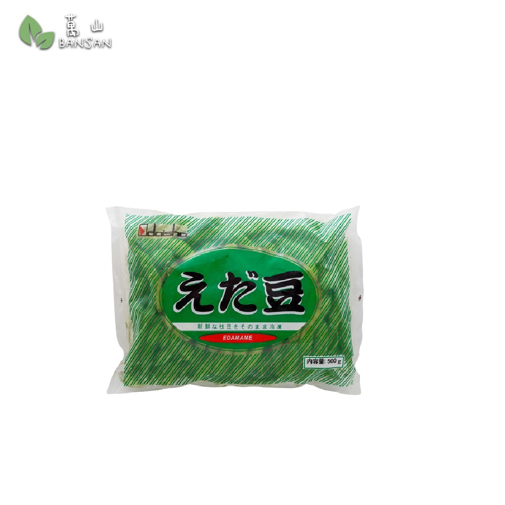Penang Grocery Store Online Next Day Delivery is Offering Daisho Edamame (Frozen Green Soybeans) (500g)
