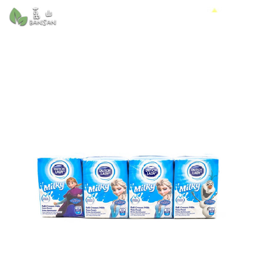 Penang Grocery Store Online Next Day Delivery is Offering Dutch Lady Milky Frozen Full Cream Milk (4 x 125ml)