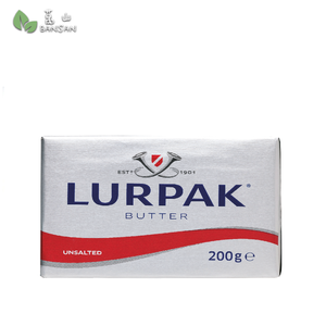 Penang Grocery Store Online Next Day Delivery is Offering Lurpak Unsalted Butter (200g)