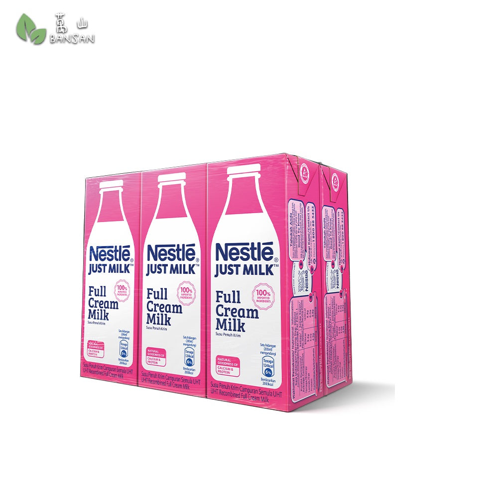 Penang Grocery Store Online Next Day Delivery is Offering NESTLE Just Milk Full Cream Milk (6 Packs) 200ml