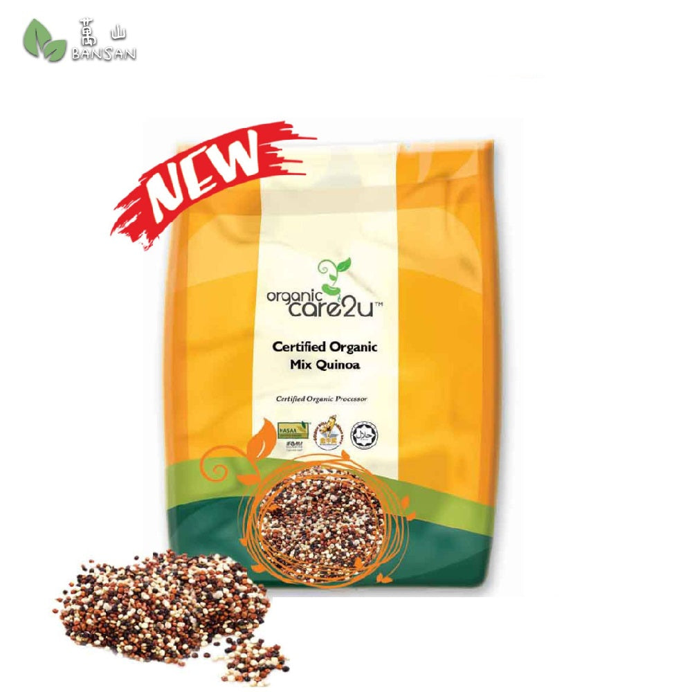 Organic Care2u Organic Mix Quinoa 有机三色小米 (400g) - Bansan Penang