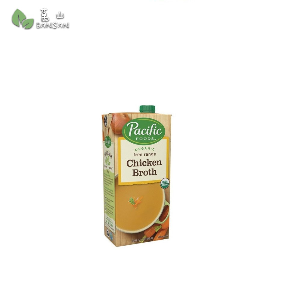 Pacific Foods Organic Free Range Chicken Broth - 32oz - Bansan Penang