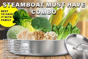 Penang Grocery Store Online Next Day Delivery is Offering Steamboat Must Have Combo
