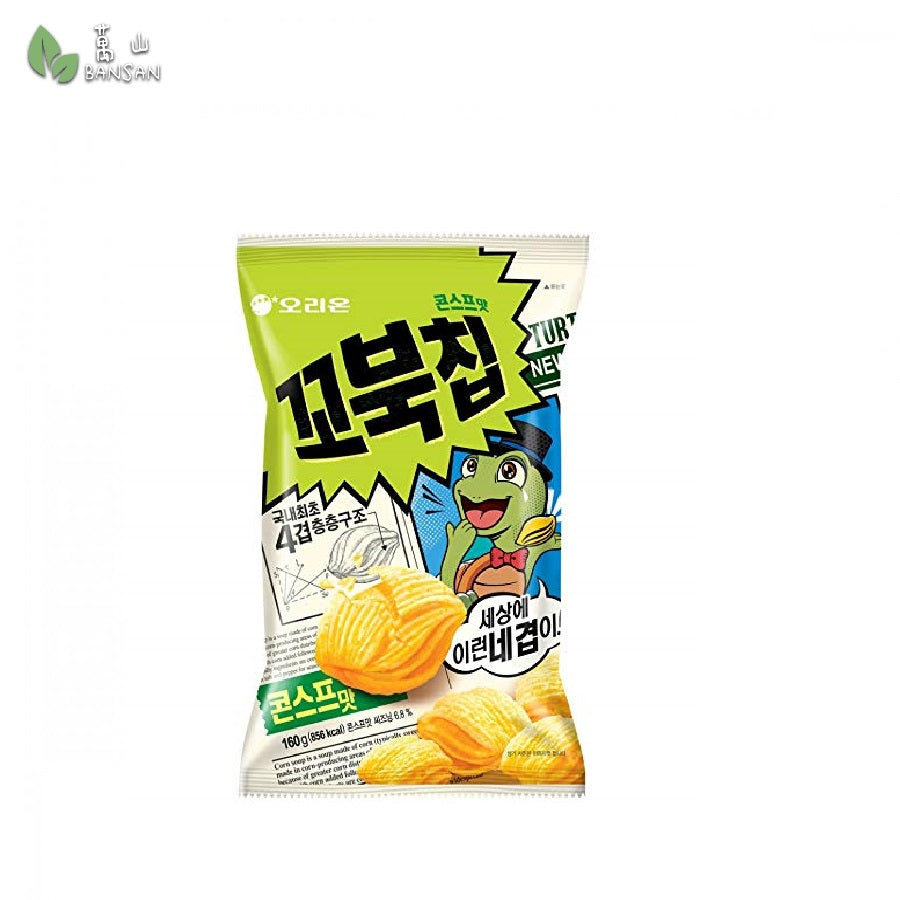 Penang Grocery Store Online Next Day Delivery is Offering Korean Orion New Four Layers Turtle Chip Corn Soup Flavor (160g)