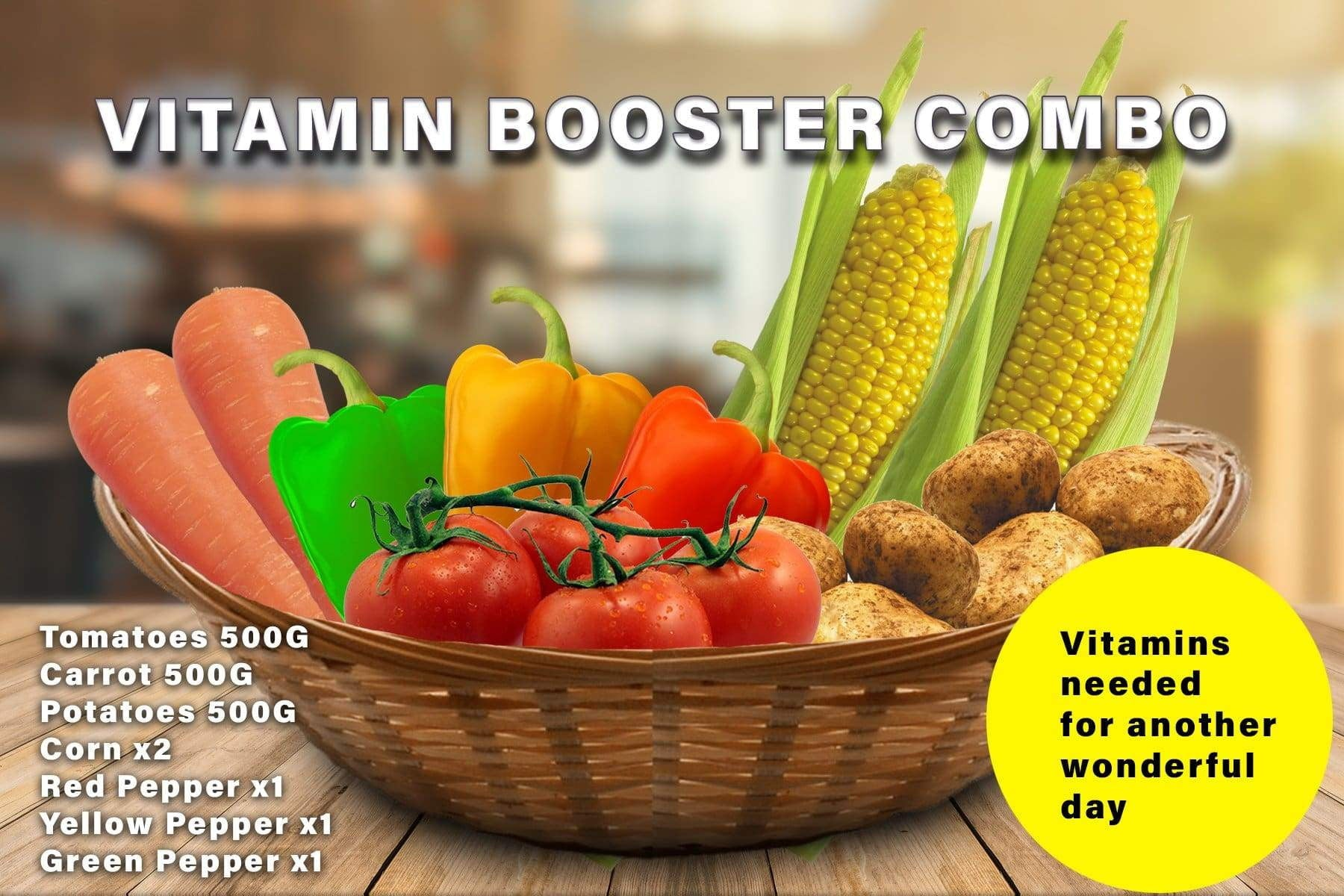 Penang Grocery Store Online Next Day Delivery is Offering Vitamin Booster Combo