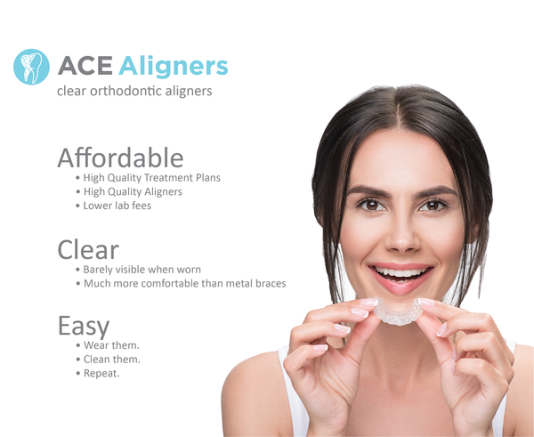 ACE Aligner: Custom Orthodontic Clear Aligners