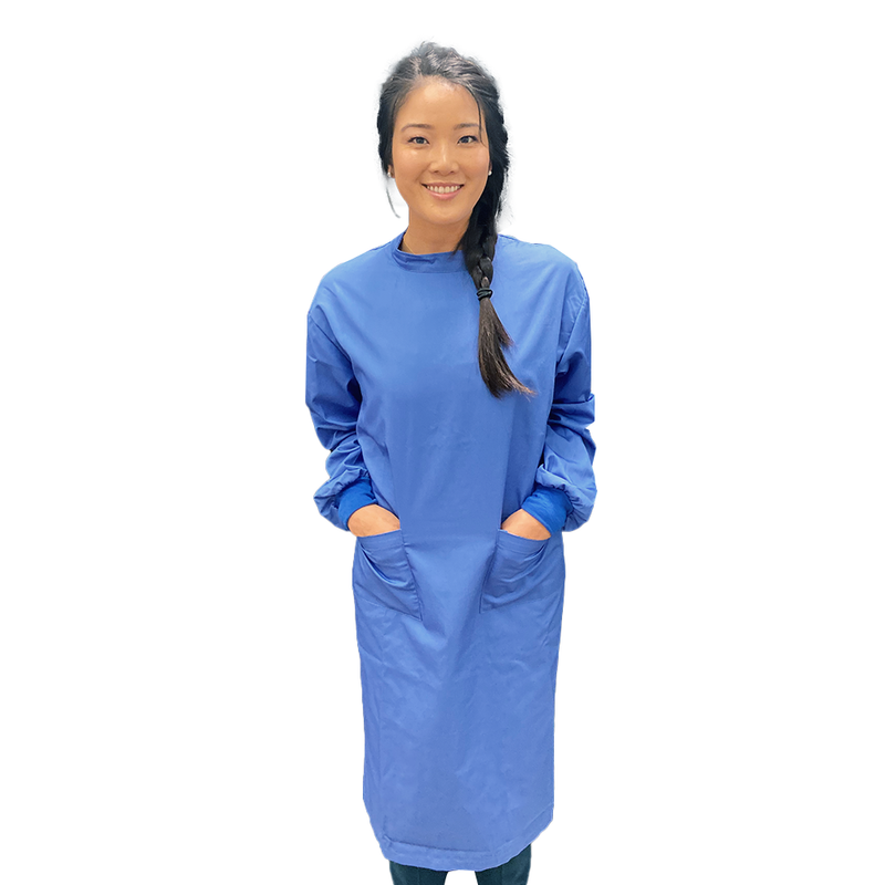 Washable Gown (Water Repellent) + Free Cap Bonus - 20 Pack ($35.99/gown + cap)