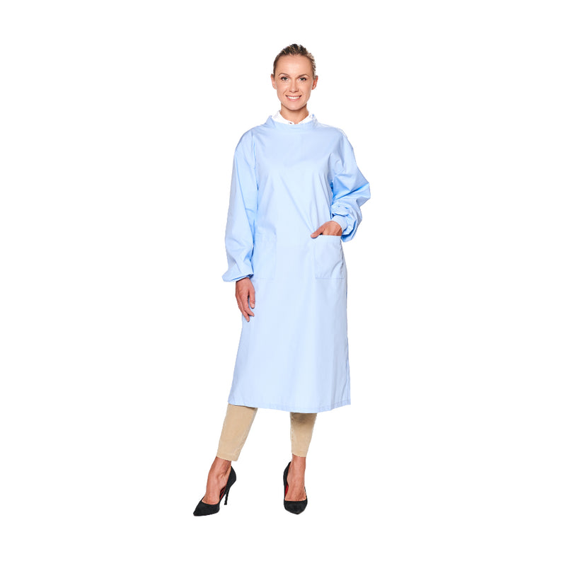 Washable Gown + Free Cap Bonus - 10 Pack ($29.00/gown + cap)