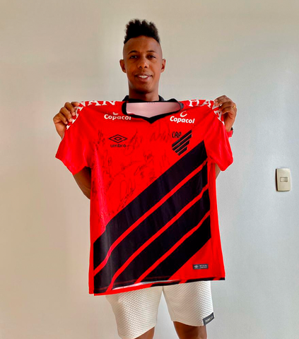 Wellington - Camisa autografada - Athletico-PR