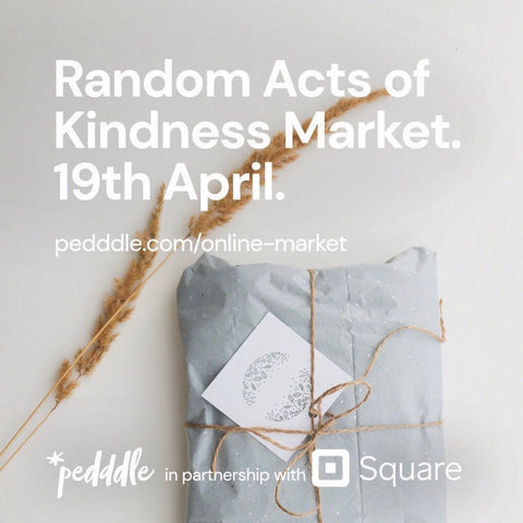 Pedddle.com Screen Shot for Random Acts of Kindness Online Market 19th April 4pm