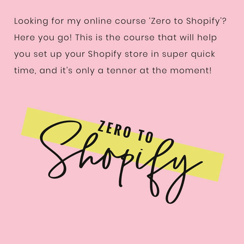 Zero to Shopify by Kim Lawler Screen Shot