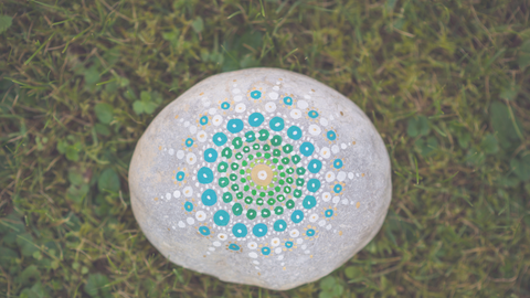 Mandala Stone Painting Workshop - White January