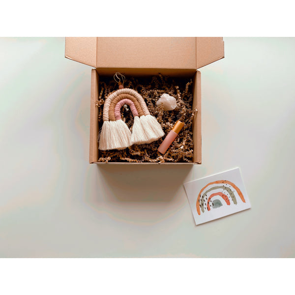 """Love"" Gift Set - White January"