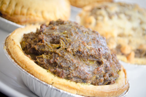 Jamaican Beef Curry Pie