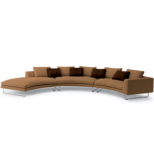 Add Look Round Sectional Sofa