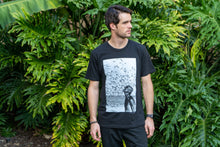 Load image into Gallery viewer, Jacques Cousteau Tee - Black (4484292640817)