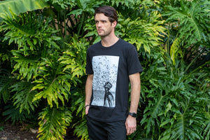 Jacques Cousteau Tee - Black (4484292640817)
