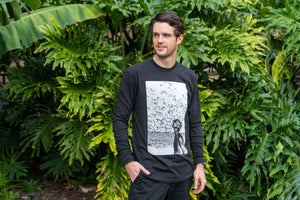 Jacques Cousteau Long Sleeve - Black (4484294475825)