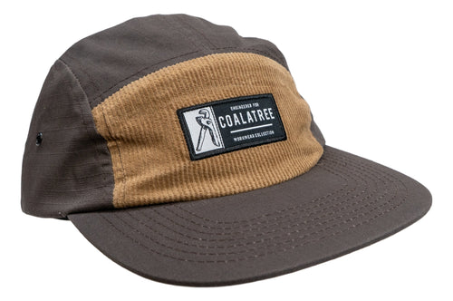 Workwear Five Panel Hat Brown (4675594584113)